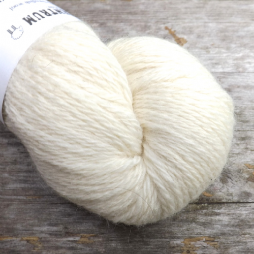 Ullcentrum Solids 3-ply - Natural White